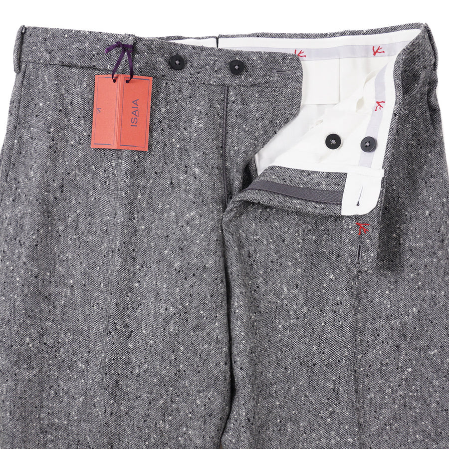 Isaia Modern-Fit Donegal Wool Pants