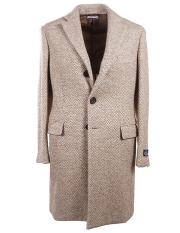 Belvest Soft-Constructed Wool-Blend Overcoat - Top Shelf Apparel