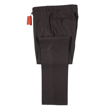 Isaia Modern-Fit Flannel Wool Pants