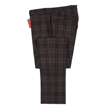 Isaia Slim-Fit Flannel Wool Pants - Top Shelf Apparel