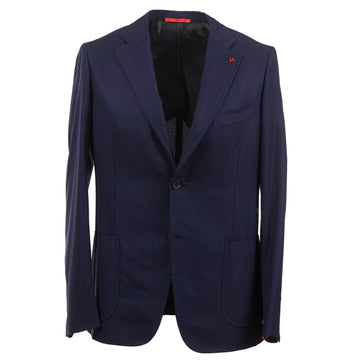 Isaia Slim-Fit Woven Wool Sport Coat