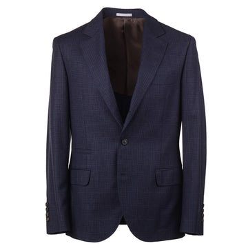 Brunello Cucinelli Slim-Fit Soft Brushed Wool Suit - Top Shelf Apparel