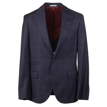Brunello Cucinelli Soft Wool Suit with Peak Lapels - Top Shelf Apparel