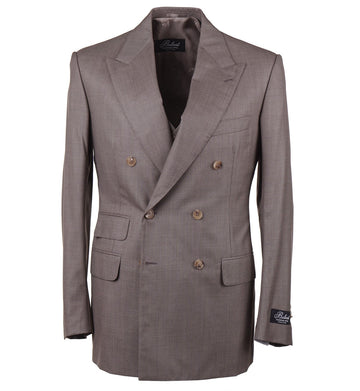 Belvest Three-Piece Super 160s Wool Suit - Top Shelf Apparel