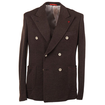Isaia Slim-Fit Knit Jersey Wool Sport Coat - Top Shelf Apparel