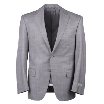 Canali Light Gray Wool Suit