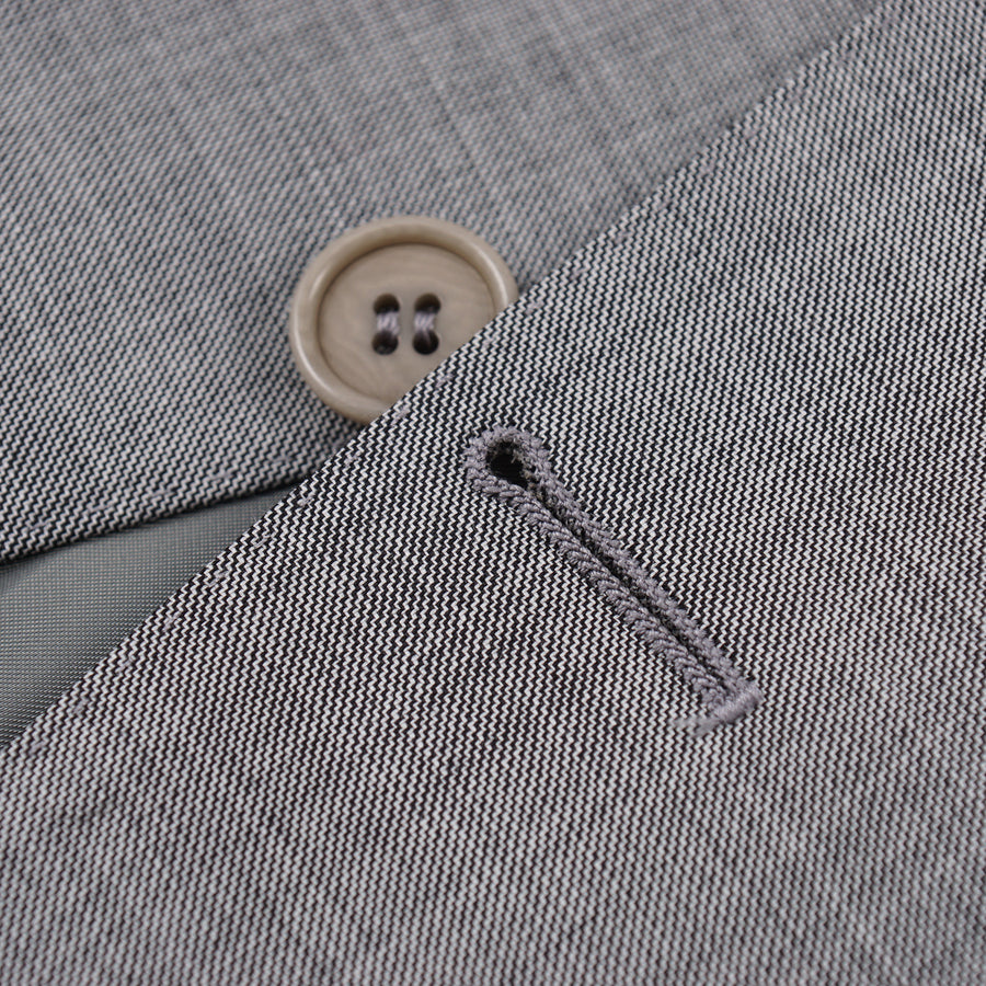 Canali Light Gray Wool Suit - Top Shelf Apparel