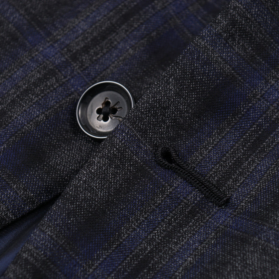 Isaia Slim-Fit 140s Wool Sport Coat