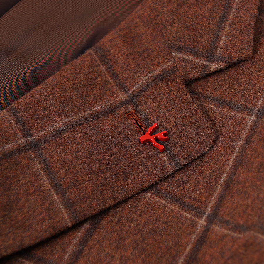 Isaia Flannel Wool-Cashmere Sport Coat - Top Shelf Apparel
