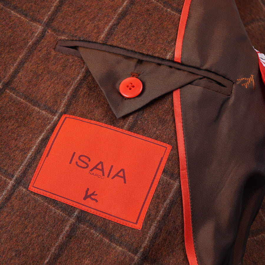 Isaia Flannel Wool-Cashmere Sport Coat