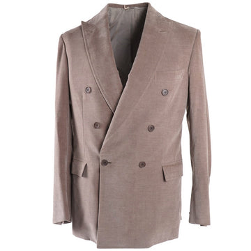 Brioni Dove Beige Cotton-Cashmere Suit