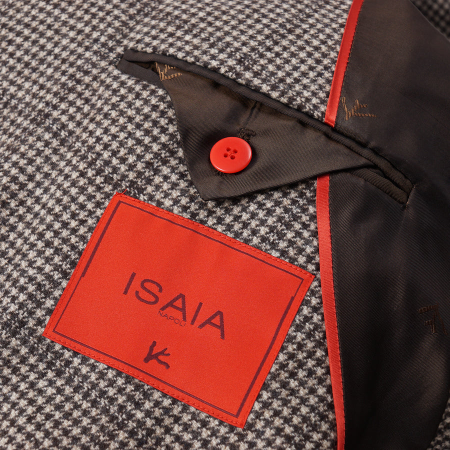 Isaia Soft Layered Check Wool Suit
