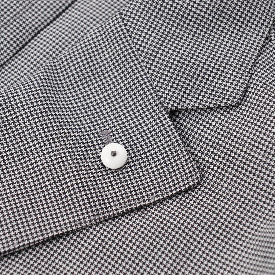 L.B.M. 1911 Lightweight Houndstooth Wool Sport Coat