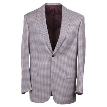Brioni Layered Check Wool Sport Coat