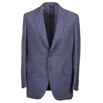 Brioni Soft Constructed Wool and Silk Sport Coat