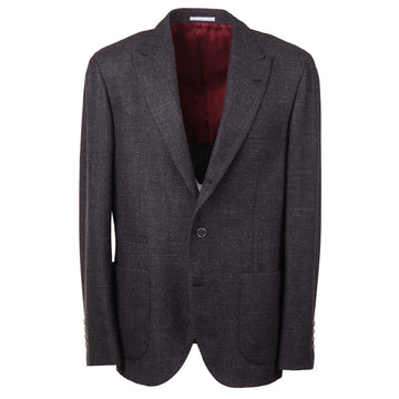 Brunello Cucinelli Slim Fit Wool-Silk-Cashmere Sport Coat
