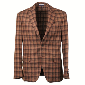 Belvest Tonal Check Wool-Silk-Cashmere Sport Coat - Top Shelf Apparel