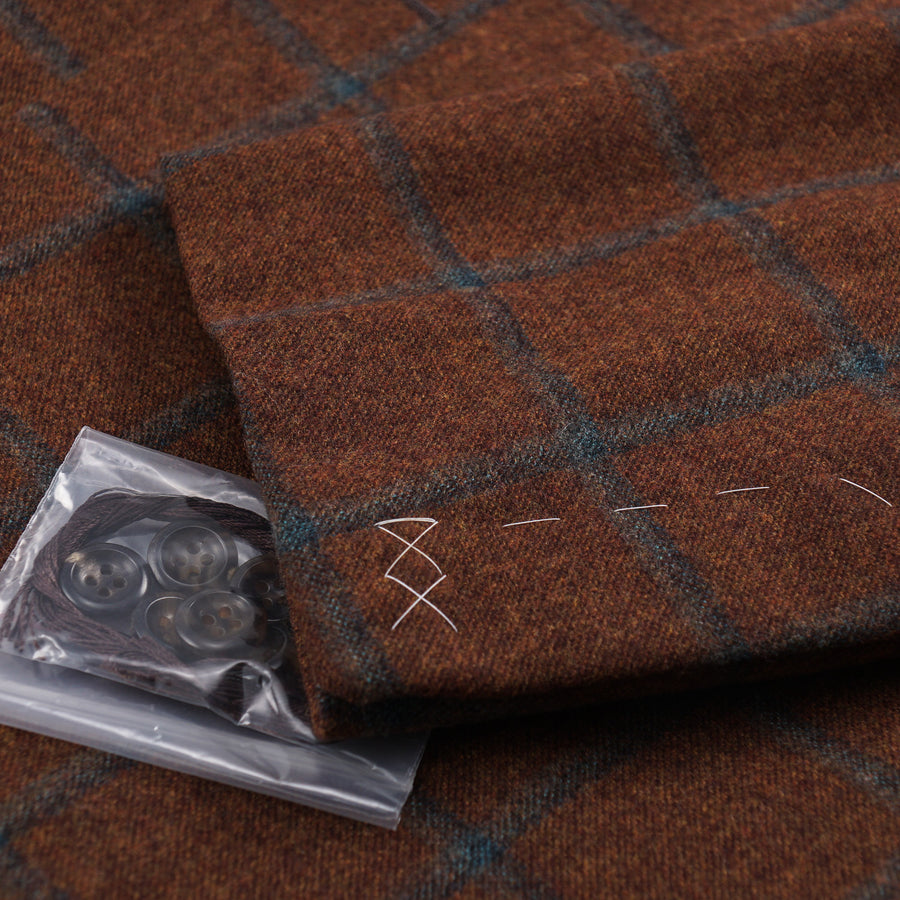 Oxxford Flannel Wool and Cashmere Sport Coat - Top Shelf Apparel
