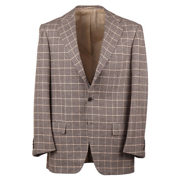 Kiton Layered Check Cashmere Sport Coat - Top Shelf Apparel