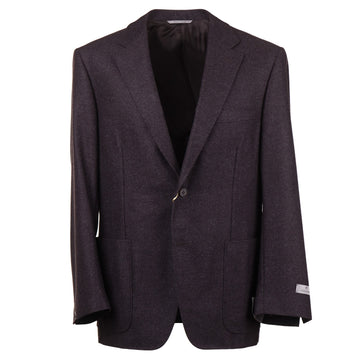 Canali Modern-Fit Flannel Wool Sport Coat