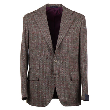 Orazio Luciano Patterned Tweed Wool Sport Coat