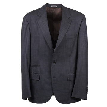 Brunello Cucinelli Slim-Fit Charcoal Gray Wool Suit