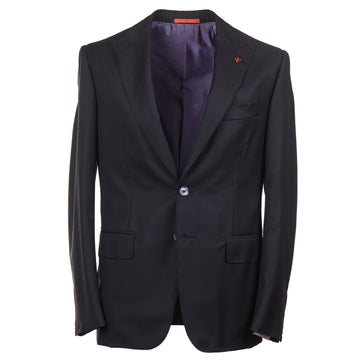 Isaia Slim-Fit Peak Lapel Sport Coat