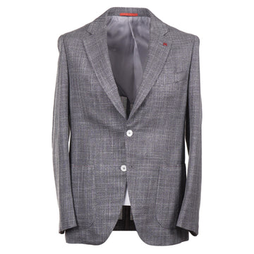 Isaia Wool and Silk Hopsack Sport Coat
