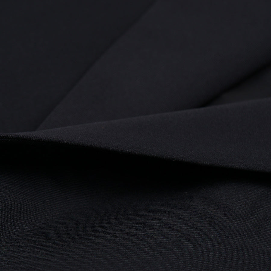 Oxxford Black Wool Tuxedo with Peak Lapels - Top Shelf Apparel