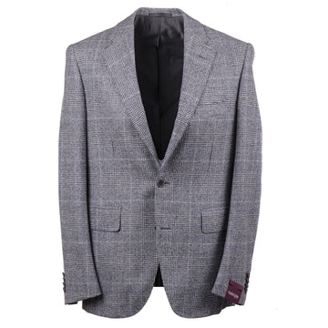 Sartoria Partenopea Blue Glen Plaid Sport Coat - Top Shelf Apparel