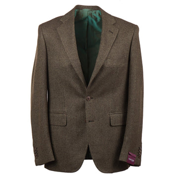 Sartoria Partenopea Patterned Wool-Cashmere Sport Coat - Top Shelf Apparel