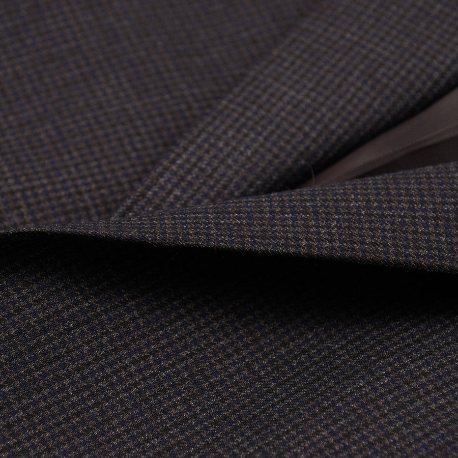 Canali Houndstooth Check Wool Suit