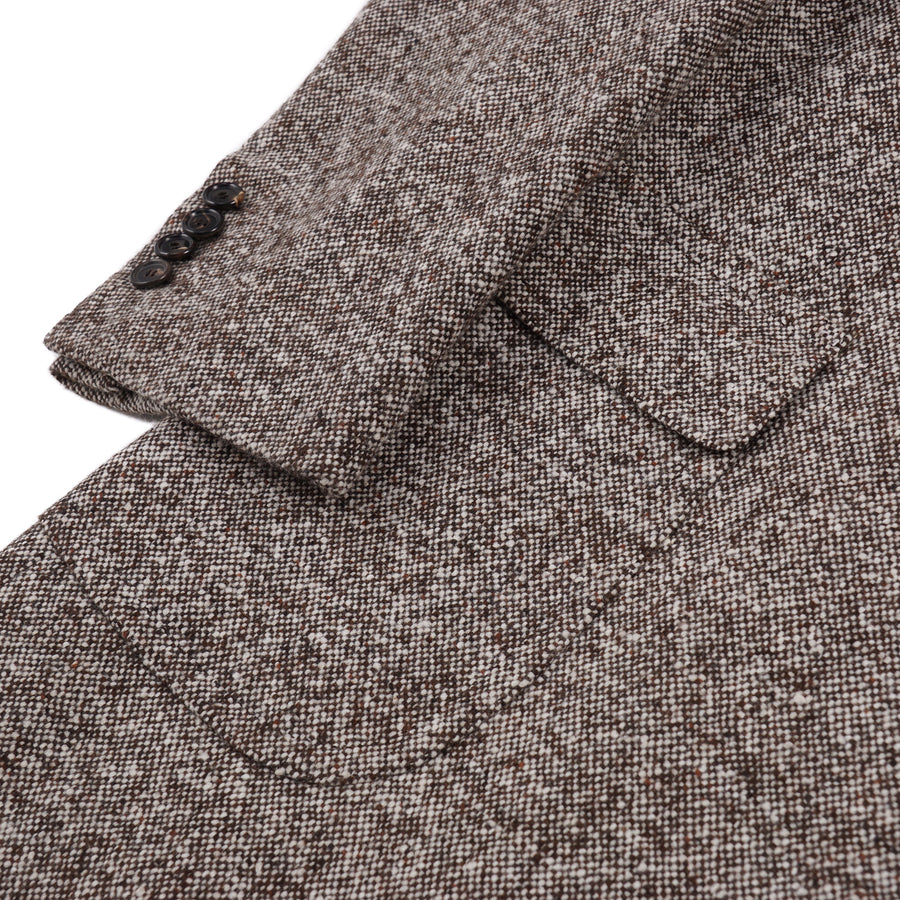 Cesare Attolini Soft Donegal Wool Overcoat - Top Shelf Apparel