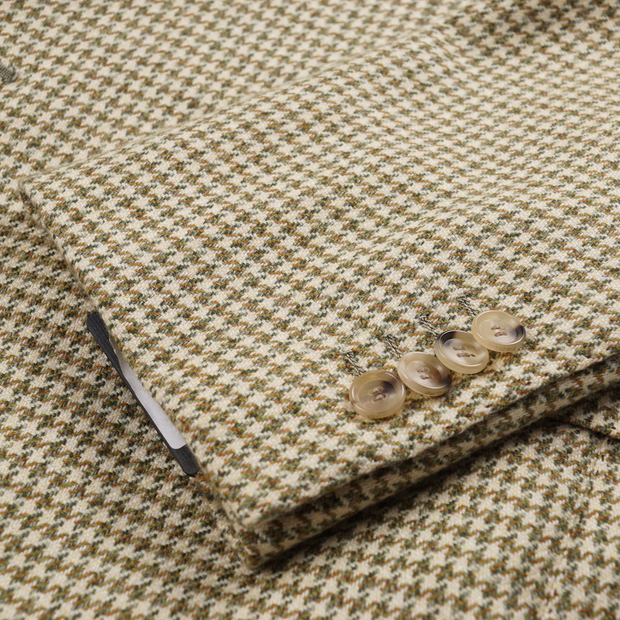 Cesare Attolini Houndstooth Cashmere Sport Coat - Top Shelf Apparel