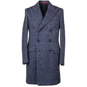 Isaia Soft-Woven Wool and Alpaca Overcoat