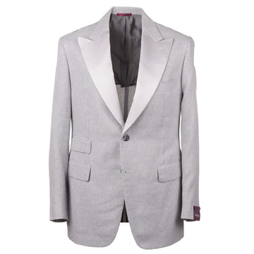 Sartoria Partenopea Woven Fresco Dinner Jacket - Top Shelf Apparel