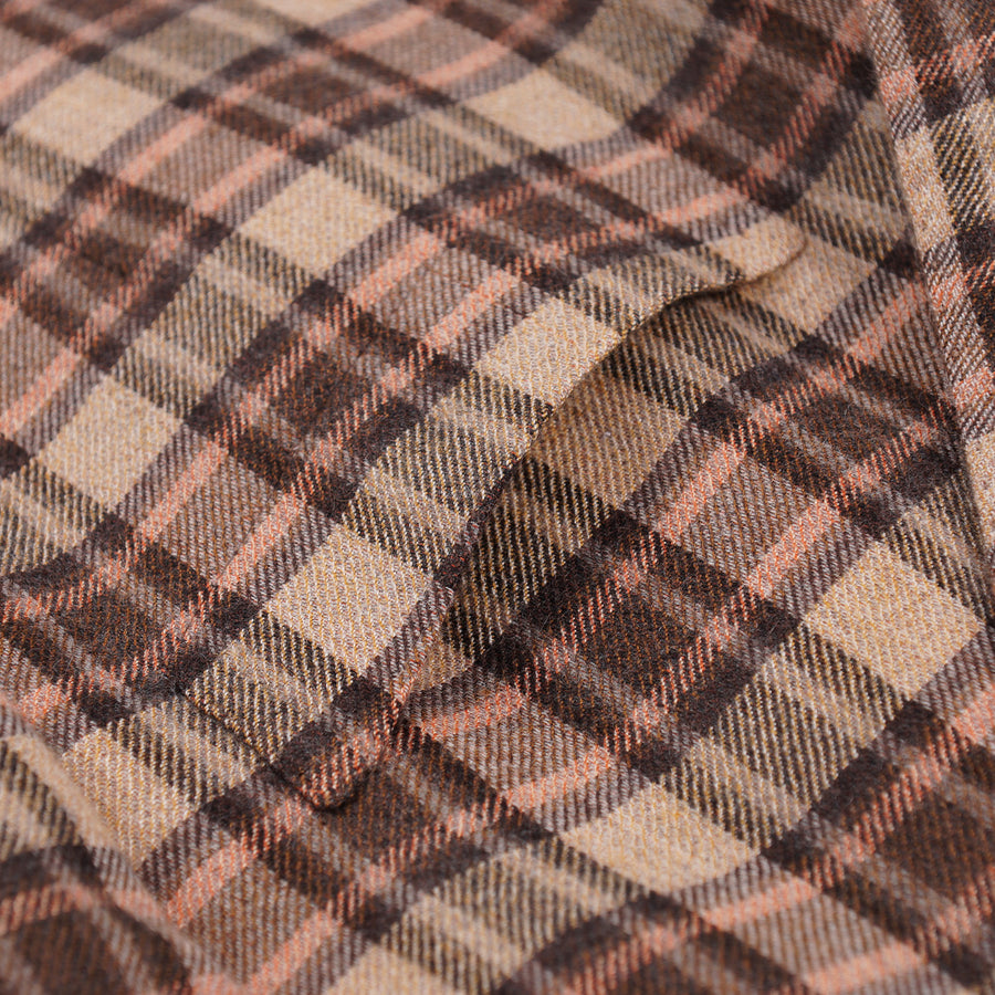 Kiton Layered Check Soft Cashmere Sport Coat - Top Shelf Apparel