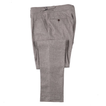 Isaia 'Casalnuovo' Flannel Melange Wool Pants - Top Shelf Apparel
