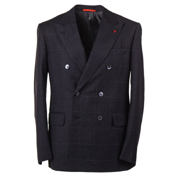 Isaia Modern-Fit Windowpane Check Suit - Top Shelf Apparel