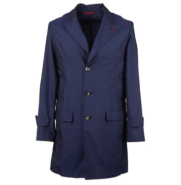 Isaia Lightweight Water-Repellent Overcoat - Top Shelf Apparel