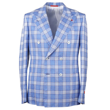 Isaia Slim-Fit Wool-Silk-Linen Sport Coat - Top Shelf Apparel