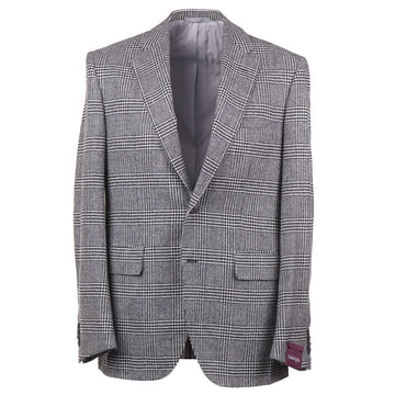Sartoria Partenopea Glen Plaid Wool-Cashmere Sport Coat - Top Shelf Apparel