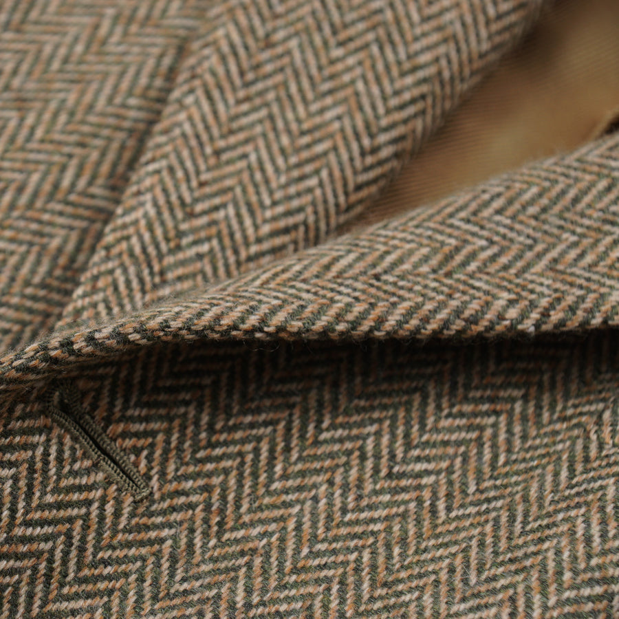 Cesare Attolini Herringbone Cashmere Sport Coat - Top Shelf Apparel