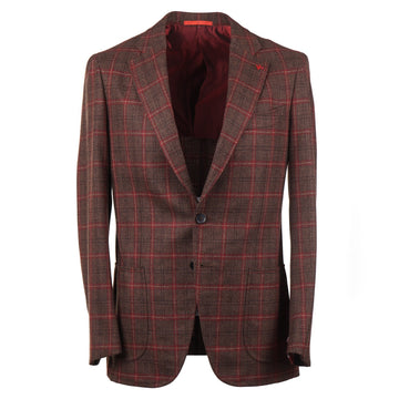 Isaia Soft Woven Wool-Cashmere Sport Coat