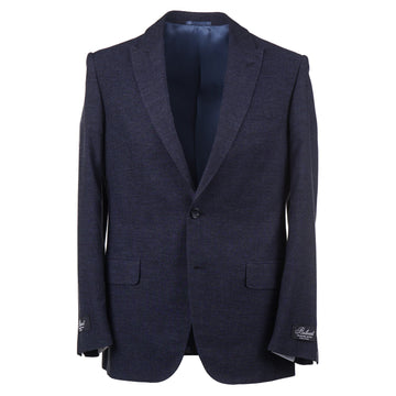 Belvest Silk Suit with Peak Lapels - Top Shelf Apparel