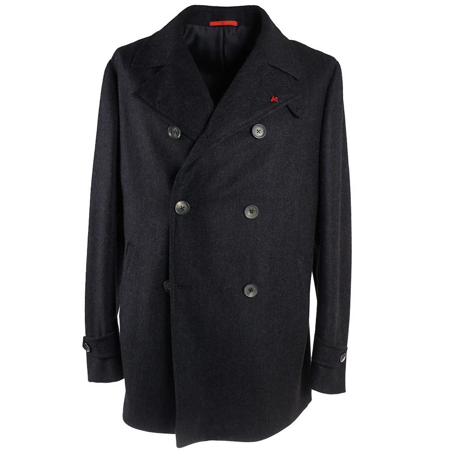 Isaia 'Cortina' Slim-Fit Pea Coat