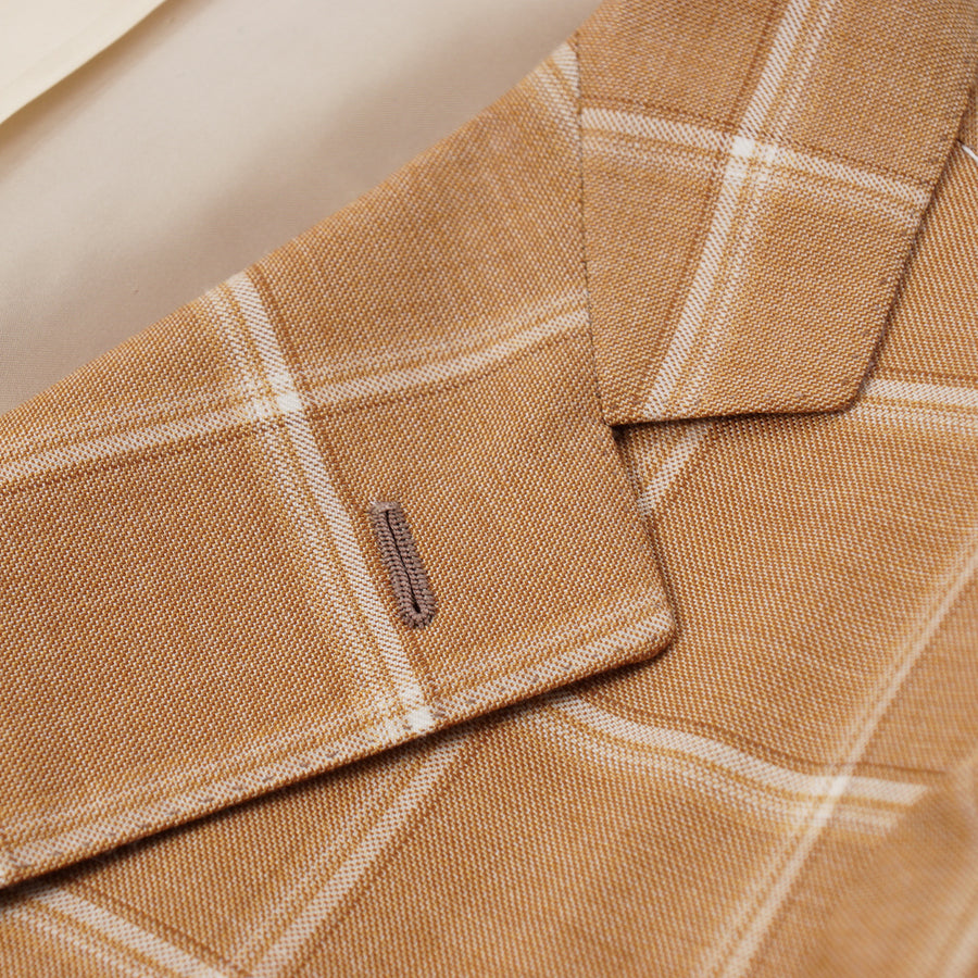 Mauro Blasi Windowpane Check Wool Sport Coat