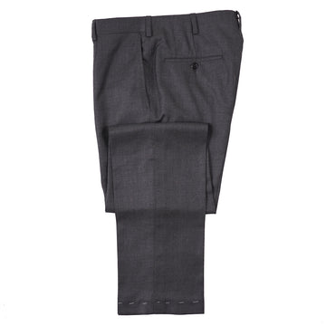 Oxxford Gray Super 140s Wool Pants