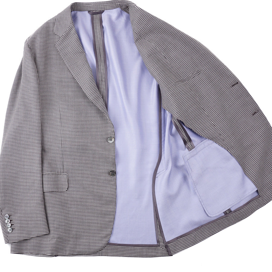 Brioni Soft Constructed Silk and Wool Sport Coat