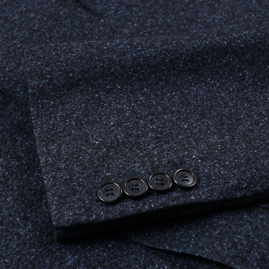 Brioni Dark Blue Melange Sport Coat